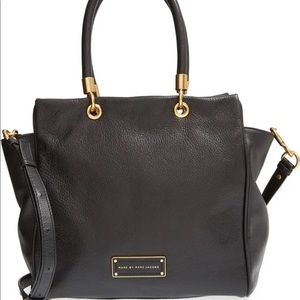 MARC JACOBS Too Hot to Handle Bentley Leather Tote